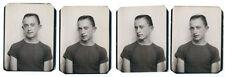 Photo identité photomaton / homme aux grandes oreilles 1960 photo booth gays