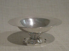 Georg Jensen Sterling Oval Footed Bowl 42 D