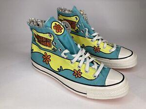 Converse x Scooby-Doo CTAS Hi 'Mystery Machine' Shoes 169072C Men's Size 9
