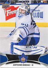 16/17 UPPER DECK AHL #94 ANTOINE BIBEAU TORONTO MARLIES *31015
