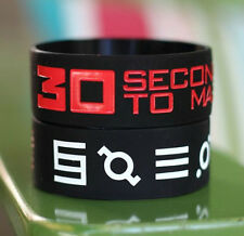New 30 Seconds To Mars Fans Silicone Wristband Bracelet
