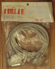Serial DB9 9-Pin Female to DB25 Male PLC Cable 10' long, new!