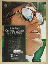 1976 Ray-Ban Olympic Games Sunglasses vintage print Ad