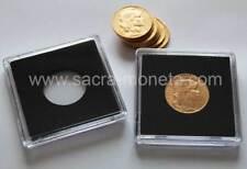 Capsules de Protection Quadrum pour pièces 20 francs or diamètre 21 millimètres