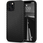 Shockproof Ultra Thin Carbon Fiber Case Cover for Apple iPhone 12 Pro Max Mini