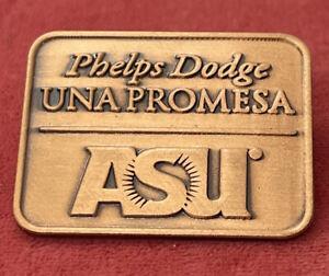 Lapel Pin Brooch Phelps Dodge Una Promesa Copper asu Arizona