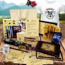 Personalised Harry Potter Acceptance Letter T Shirt Bag Box Wand Quill Set !