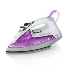 Swan SI3060N White Removable Tank Iron with 215 ml Water Capacity 2400 Watts