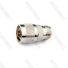 N Male Plug to N Female Jack Straight Type RF Coaxial Adapter Connector New