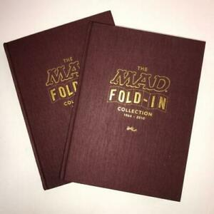 The MAD Fold-In Collection Book SET 2 & 3, 1964-2010 MAD MAGAZINE Al Jaffee