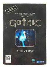 Gothic Universe Jeu Sur PC / La Trilogie 1 + II 2 Gold Edition + 3