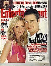 Sarah Michelle Gellar Buffy Freddie Prinze Jr Entertainment Weekly Magazine 6/02