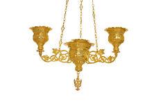 Orthodox Christian Byzantine Chandelier 4 vigil lamp lampadas Holy Gates