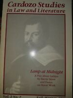 Lamp at midnight A play about Galileo Barrie Stavis SIGNED to Patrick Garland
