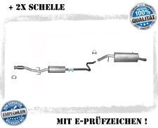 Auspuffanlage Peugeot 207, CC, SW 1.4, 1.6 16V Auspuff Flexrohr + Schelle