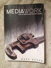 DMS - Digital Media and Society Ser.: Media Work by Mark Deuze (2008, Paperback)