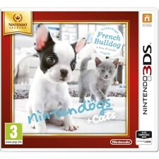 Selects Nintendogs Cats French Bulldog Friends Nintendo 3ds