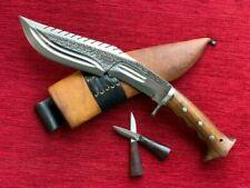 Gurkha Ganjawal Khukuri Khukri Kukri Knife Dragon Spine 10 Inch Full Tang