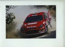 Marcus Gronholm Peugeot 307 WRC Cyprus Rally 2005 Signed Photograph