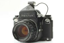 [Exc4] Pentax 6x7 67 Eye Level Film Camera Takumar 105mm f/2.4 Lens Fr Japan a98