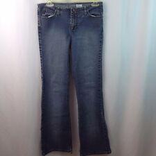 Mudd Junior Flare Leg Jeans Size 9 (clipped legs on inner bottom seam)