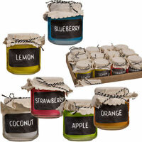 6 X 7.5CM SCENTED CANDLE IN GLASS POT 100% ORIGINAL FRAGRANCE HOME GIFT SET MOOD