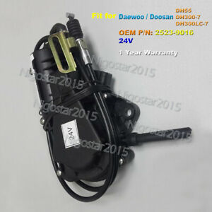 24V Engine Flameout Motor Stop Motor for Daewoo Doosan DH55 DH300-7 DH300LC-7