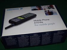 Pair of Ericsson A1018s Mobile Phone With Box And Accessories  -Retro