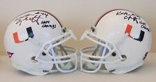 Keith Griffin University of Miami Hurricanes Double Signed w National Champs Ins