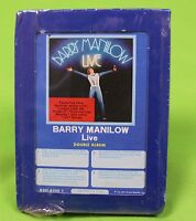 Barry Manilow Live Arista New NOS Sealed Vintage 8 Track Stereo Tape Cartridge