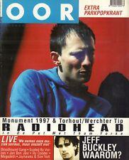 MAGAZINE OOR 1997 nr. 12 - RADIOHEAD (COVER)/JEFF BUCKLEY/JON BON JOVI/MEGADETH