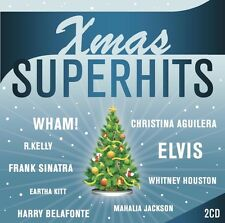 XMAS SUPERHITS 2 CD NEU WHAM!/CÉLINE DION/DORIS DAY/FRANK SINATRA/ELVIS PRESLEY
