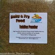 Tubifex Worms Powder Fry & Baby Food