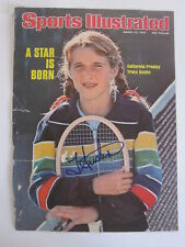 Tracey Austin 1976 signed autographed Sports Illustrated Tennis