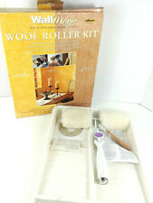 Wall Magic By Wegner Wool Roller Kit Faux Finish Decorative Paint Roller Kit
