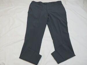 Stromberg,men's 44L,grey,100% polyester golf trousers,GC.