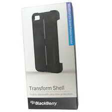 Nuevo Original BlackBerry Z10 BB10 Negro Transformar Carcasa Funda W Pantalla Rt