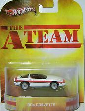 1/64 Hot Wheels Retro The A Team 80s Corvette