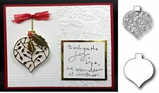 Christmas BUNDLE Metal Die set - Clarissa Ornament and Outine Cutting Dies