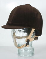 Champion Classic Velvet Horse Riding Hat Helmet Kitemarked Showing