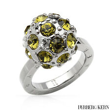 DYRBERG/KERN of DENMARK! Delica Collection New Shiny Silver Finished Ring