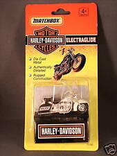 1993 Matchbox Harley Davidson Police Bike Electraglide