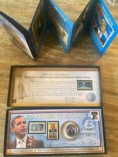 "The Franklin Mint ""Eyewitness To History Inauguration of President Barack Obama"""