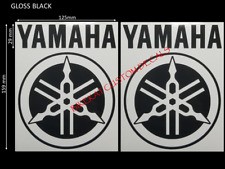 2 x Decal Yamaha style R1 R6 YZF YBR RD tuning fork Stickers SIZES