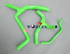 KAWASAKI KXF450 KX450F 2009-2014 09 10 11 12 Silicone Radiator Y Hose Kit green
