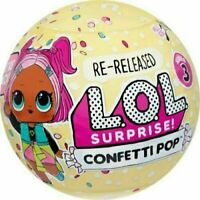 LOL Surprise Confetti Pop Series 3 New HTF Sealed Balls Authentic L.O.L. MGA