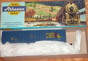 ATHEARN 5470 57 FT MECHANICAL REEFER KIT GOLDEN WEST SERVICE VCY 25055