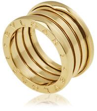 bvlgari bzero1 18k yellow gold 4band ring size 775