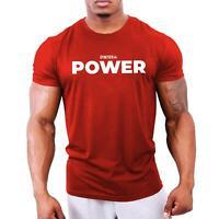 Power - Men's Bodybuilding T-Shirt | Gym Training Vest Top by GYMTIER