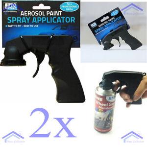 NEW 2x Professional Aerosol Spray Paint Applicator Trigger Gun Painting Machine